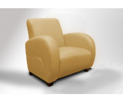 Amarello: Celokožené křeslo 1M